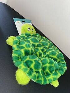 ZippyPaws Squeakie Crawler- Slow Poke The Turtle - Dog Toy