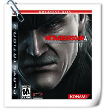 PS3 Metal Gear Solid 4: Guns of the Patriots SONY PlayStation Action Game Konami