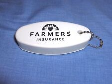 #1406 - BOATER'S FLOATING KEYCHAIN - FARMERS INSURANCE ADVERTISING - NEW