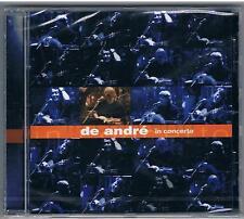 FABRIZIO DE ANDRE'  IN CONCERTO CD NUOVO  SIGILLATO!!!