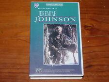 Jeremiah Johnson VHS 1970's Western Warner Home Video PAL