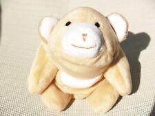 """RARE GUND - TAN BEAN BAG SNUFFY / SNUFFLES BEAR - #2370 - 6"""" - NEW - ALL TAGS"""