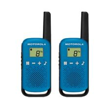 Motorola TALKABOUT T42 Twin Pack Two-Way Radios in Blue PMR 446 Compact