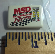 MSD IGNITION ~ RACING ~ LIGHT UP LAPEL HAT PIN ~ CHRISTMAS TREE ~ STAGING LIGHT
