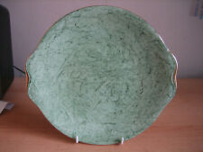 ROYAL ALBERT GREEN 'GOSSAMER' CAKE PLATE