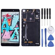 For Lenovo K3 Note / K50-T5 LCD Display With Frame Panel Touch Digitizer BLACK
