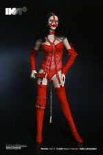 HotPlus Sexy Lingerie in Red for 1:6 Phicen Kumik Hot Toys body HP-015