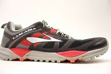 Womens Brooks Cascadia 11 Mesh Cushioned Trail Running Athletic Shoes Size 11