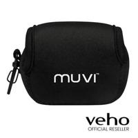 VEHO MUVI K-SERIES CAMERA NEOPRENE CARRY CASE POUCH BAG - BLACK - VCC-A049-KCB