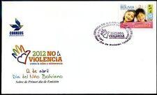"""BOLIVIA 2012 """"NO a la violencia infantil"""" FDC"""