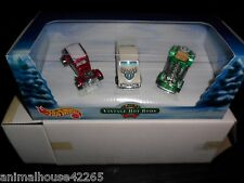 CHRISTMAS HOT WHEELS VINTAGE HOT RODS 3 CAR SET MINT 1:64 VICKY PASSION SWEET 16