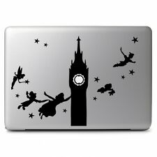 Peter Pan Big Ben Flying for Macbook Air Pro Laptop Car Window Decal Sticke