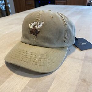 Filson Washed Low Profile Cap - Moose - New With Tags - Bronze - Sold Out - USA