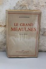 Le Grand Meaulnes - Fournier - Emile Paul - 1944