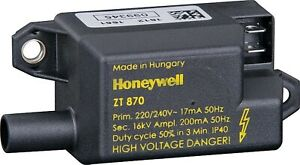 Complete Set Honeywell Ignition Transformer ZT 870 + Mesh And High-Voltage