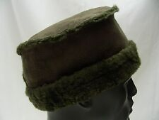 TSUNAMI - GREEN - PILLBOX - ROUND ONE SIZE CAP HAT!