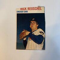 1979 Hostess Rick Reuschel # 67 Chicago Cubs MLB Baseball Card Hand Cut