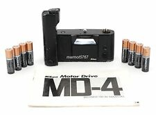 NIKON MD-4 MOTOR DRIVE for the NIKON F3 & F3HP! 90-DAY WARRANTY! EXCELLENT COND!