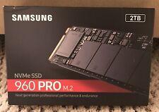 Samsung 960 Pro 2TB NVMe m.2 PCIExpress SSD NVMe - MZ-V6P2T0BW - RETAIL SEALED