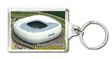 ALLIANZ ARENA STADIUM MUNICH GERMANY KEYRING SOUVENIR LLAVERO