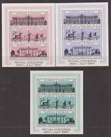 1981 Royal Wedding Charles & Diana MNH Stamps Stamp Sheets Sheetlets Barbuda