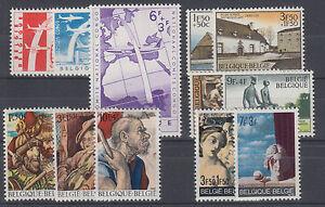 Belgium Sc B669/B869 MNH. 1960-1970 Semi-Postals, 4 cplt sets VF