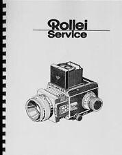 Rollei Rolleiflex SL66 SL-66 Service & Repair Manual