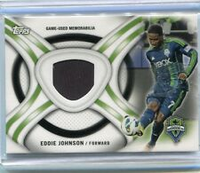 2013 TOPPS MLS Soccer EDDIE JOHNSON Jersey Relic USMNT