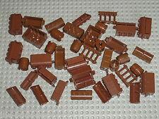 Lot de caisses tonneaux LEGO PIRATES bulk containers barrels 2489 4738a 30150