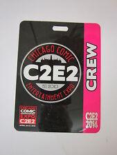 C2E2 2014   OFFICIAL  CREW  BADGE
