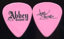 Avril Lavigne 2010 Lullaby Tour Guitar Pick! custom Recording Studio Pick