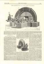 1895 Lens Colliery Rateau Fan Ventilation Plans