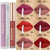 DNM 12 Colors Makeup Lipstick Matte Waterproof Velvet Nude Cashmere Cosmetics