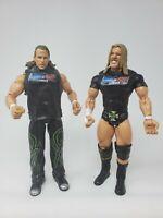 WWE DX Triple H Shawn Michaels Jakks Pacific Wrestling Action Figure