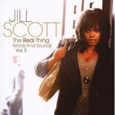 JILL SCOTT - THE REAL THING-WORDS A.S.VOL.3 CD POP NEW+