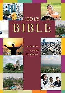 Holy Bible Hardback Revised Standard Version RSV Hardback Popular