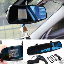 "Car 2.4"" HD Vehicle Rearview mirror traffic recorder Dash Cam Video DVR Vision"