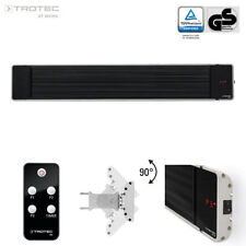 TROTEC Black Heater IRD 1800 | Verwarming Stoker Straalkachel Radiator Terras