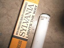 L40/W GE Sylvania L40 WHITE LUMILINE Light Bulb! NOS New Old Stock! 40W L@@K!