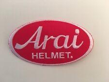 A409 // ECUSSON PATCH AUFNAHER TOPPA / NEUF / ARAI HELMET / 10*5.5 CM