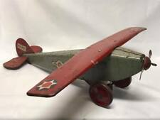 Antique JC Penney Playthings lil Jim Steelcraft Airplane NX 107
