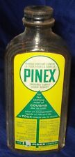 RP855 Vtg Pinex Cough Medicine Bottle