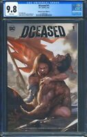 Dceased 1 (DC) CGC 9.8 White Pages Inhyuk Lee Variant
