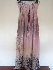 Una bella elegante H&M Fashion Colore Misto Abito Taglia 8-10 lunghezza circa 44 Scarpe ELEG