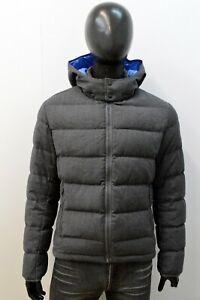 Piumino Uomo Colmar Taglia 48 Giacca Giubbotto Parka Grigio Cappotto Jacket Man