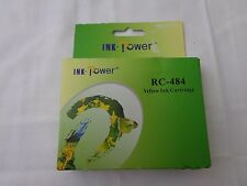 Ink Power RC-484 Yellow Ink Cartridge--Expired