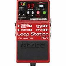 Boss RC3 RC-3 Loop Station Pedal +Picks
