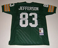 PACKERS John Jefferson signed custom jersey w/ #83 JSA COA AUTO Autographed
