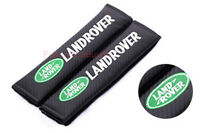 Car Auto Seat Safety Belt Pad Cover Shoulder Strap Cushion Logo For Land Rover