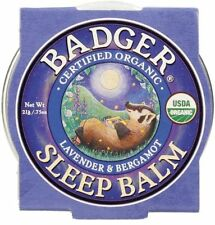 Organic Sleep Balm, Lavender & Bergamot, .75 oz (21 g) - Badger Company